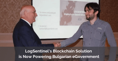 LogSentinel's Blockchain Solution is Now Powering Bulgarian eGovernment