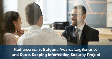 Raiffeisenbank Bulgaria Awards LogSentinel and Starts Scoping Information Security Project on the Blockchain