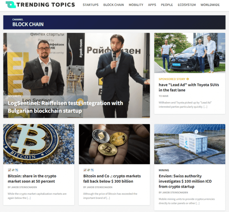 LogSentinel Featured at TrendingTopics