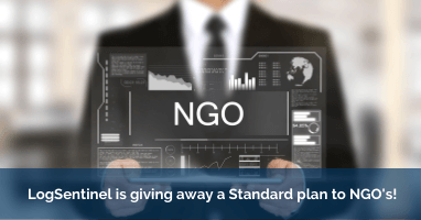 LogSentinel is giving away a Standard plan to NGOs