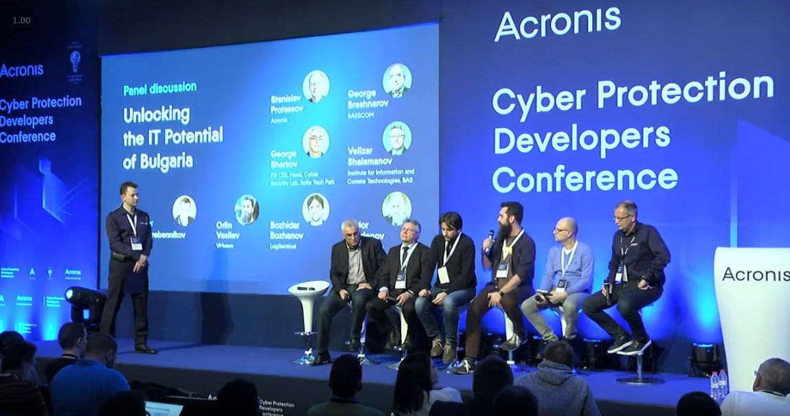 Acronis Conference IT Security