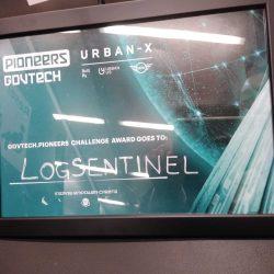 LogSentinel Pioneers Govtech certificate