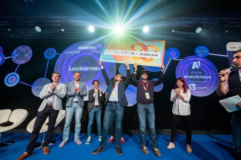 LogSentinel-winning-DigitalK-startup-award-2019