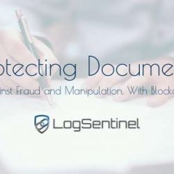 Protecting documents on blockchain