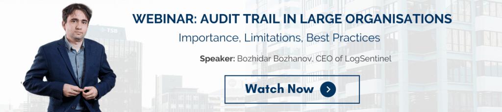 Webinar Audit Trail Bozhidar Bozhanov