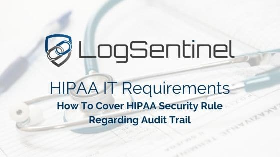 HIPAA IT REQUIREMENTS MAPPING