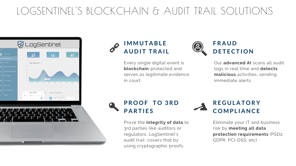 Audit log and Blockchain solutions