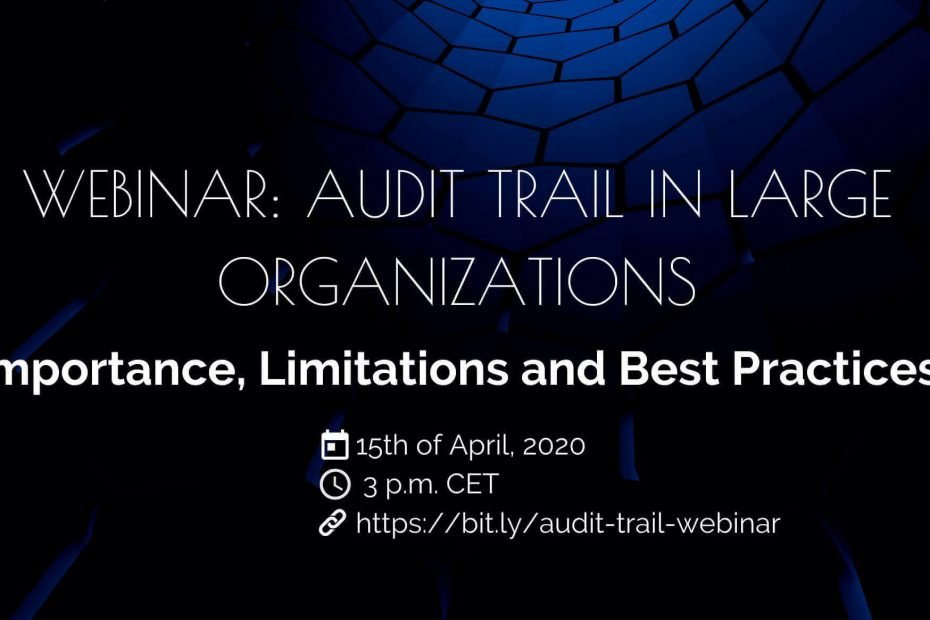 audit-trail-in-large-orgainsations