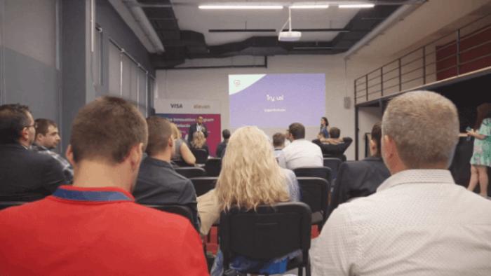 Anton Gerunov Speaker at Visa Innovation Program Pitch