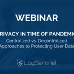 Webinar: Privacy in Time of Pandemic