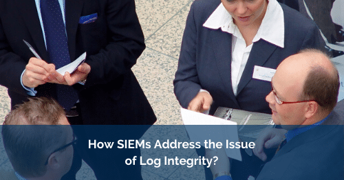 log integrity SIEMs