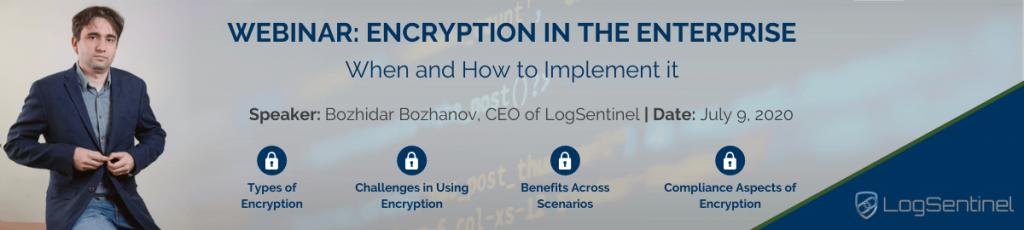 Webinar Encryption in the Enterprise