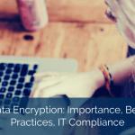 Data Encryption: Importance, Best Practices, IT Compliance