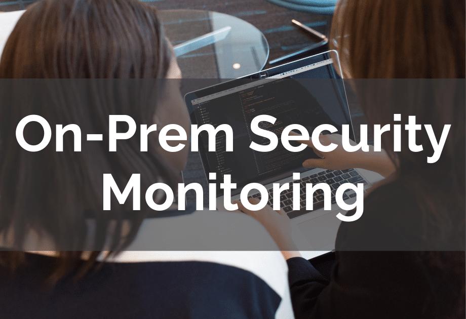 SIEM-on-prem-security-monitoring