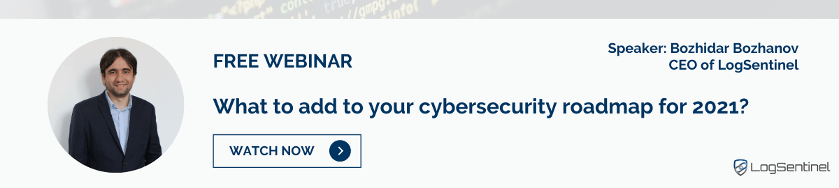 Free Webinar: What to add to your security roadmap