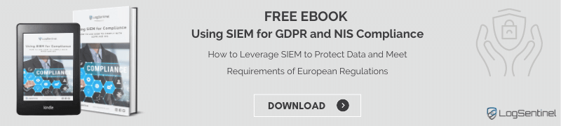 Ebook SIEM for GDPR and NIS banner