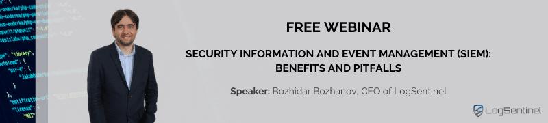 FREE Webinar SIEM Benefits