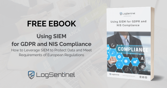 Using SIEM for GDPR and NIS Compliance ebook