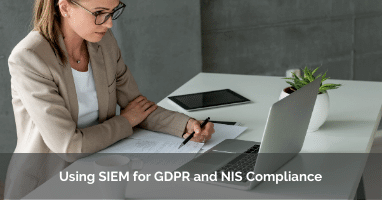Using SIEM for GDPR and NIS banner