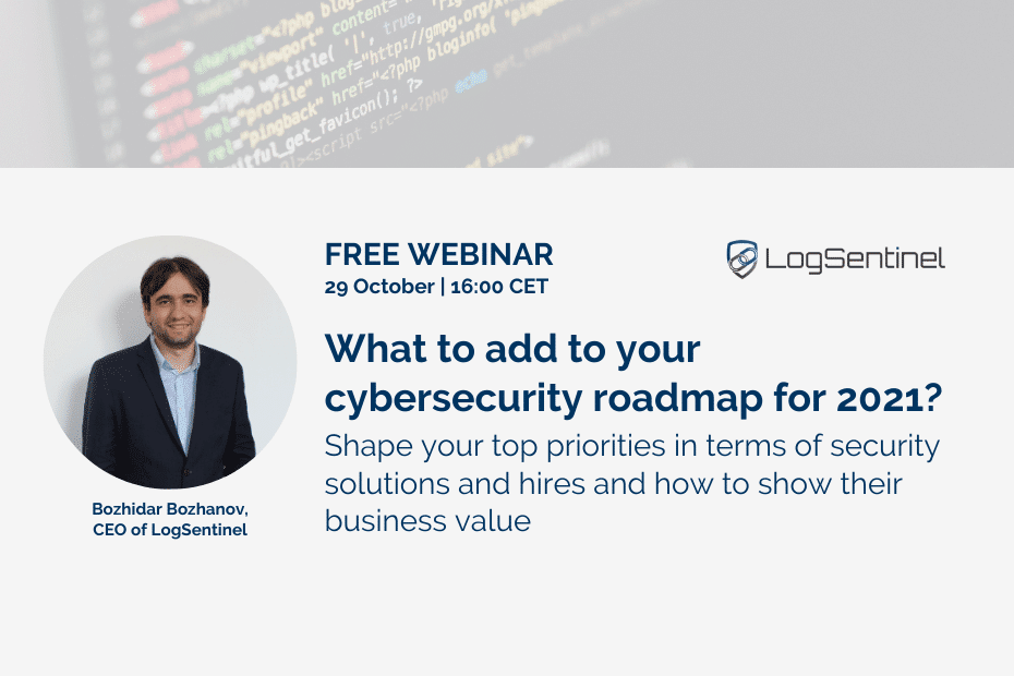 Webinar Cyber Security Roadmap 20201