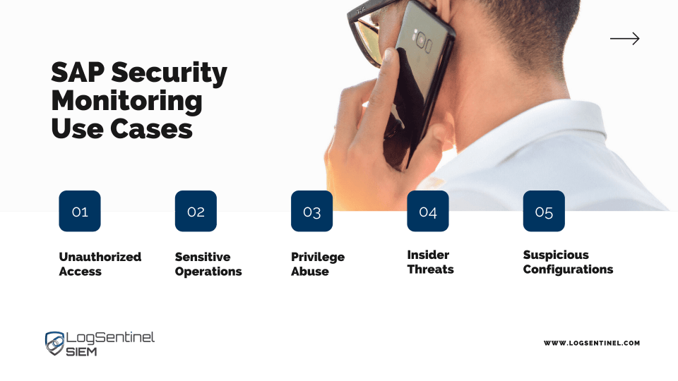SAP Secuirty monitoring use cases