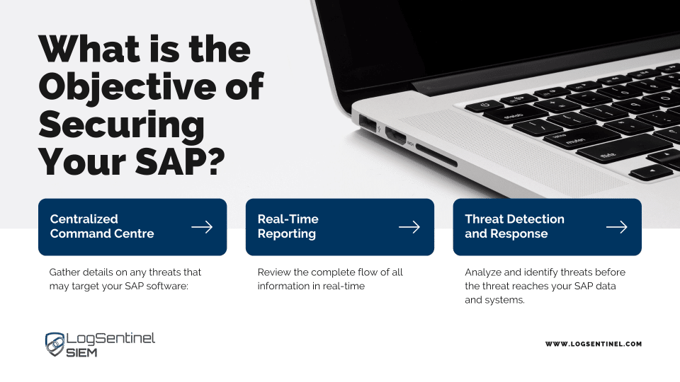 What is the objective of securing your SAP