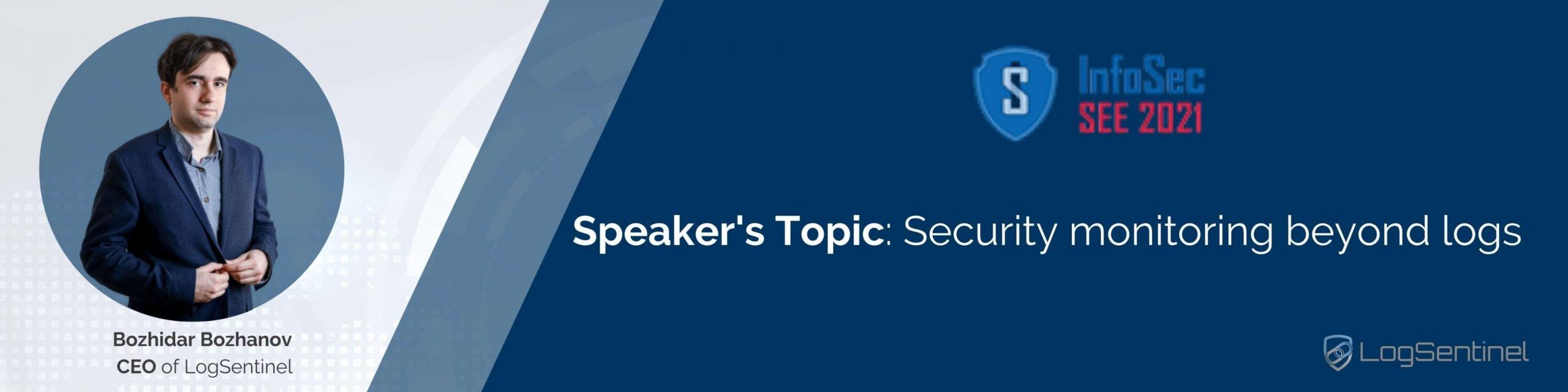 Bozhidar Bozhanov Speaker InfoSec 2021 SEE