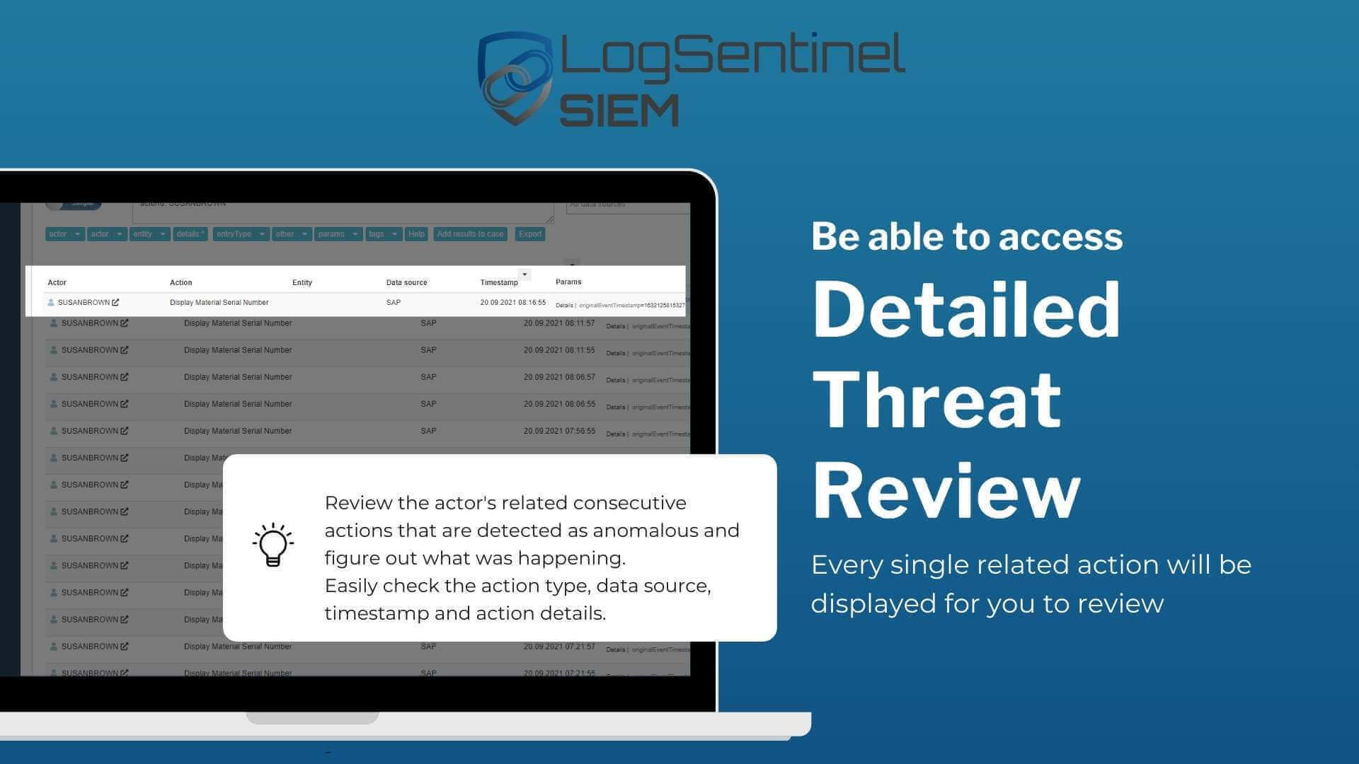 Detailed Threat Review of SAP